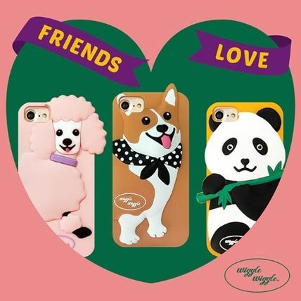 Street Style Other Animal Patterns Silicon Smart Phone Cases