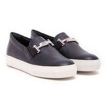 TOD'S Round Toe Rubber Sole Casual Style Blended Fabrics Plain
