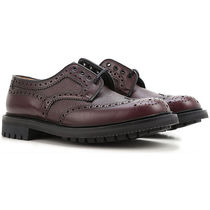 Church's Wing Tip Leather Oxfords