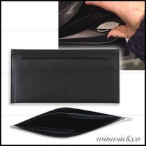 ISSEY MIYAKE Plain Leather Long Wallets