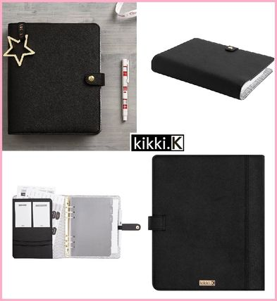 Size: Kikki.K calendar with leather black notebook L