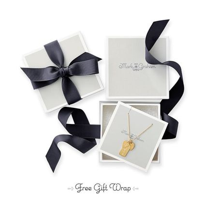 marc AND graham Necklaces & Pendants Initial Silver 14K Gold Elegant Style Necklaces & Pendants 3