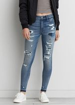 American Eagle Outfitters Denim Street Style Long Skinny Jeans