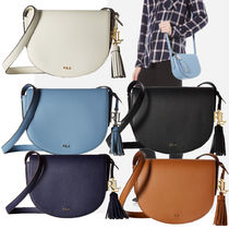 Ralph Lauren Plain Leather Shoulder Bags