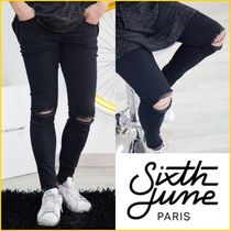 Sixth June Plain Skinny Fit Jeans & Denim