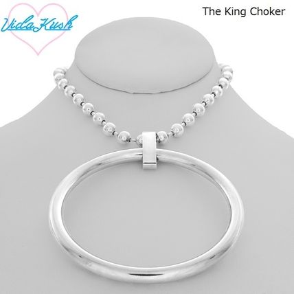Casual Style Street Style Chain Silver Necklaces & Pendants