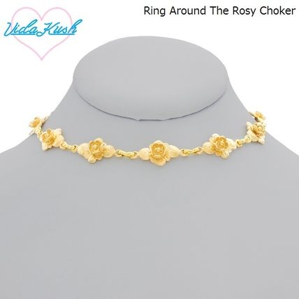 Flower Street Style Party Style Necklaces & Pendants