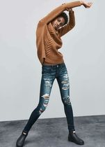 American Eagle Outfitters Casual Style Denim Street Style Long Skinny Jeans