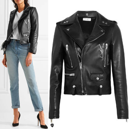 17SS WSL 1033 CLASSIC YSL MOTORCYCLE JACKET