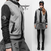 BOY LONDON Street Style Other Animal Patterns Medium Bomber Jackets