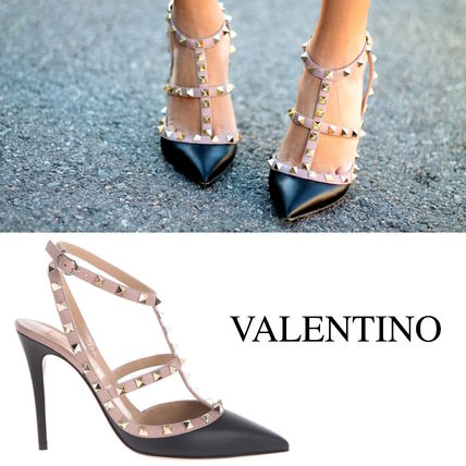 Rock studded ankle strap W 2 S 0393 VOD