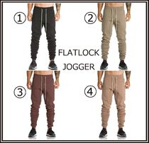 ASRV Street Style Plain Cotton Joggers & Sweatpants