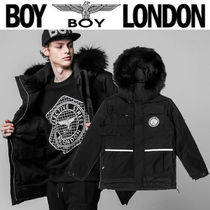 BOY LONDON Street Style Other Animal Patterns Medium Down Jackets