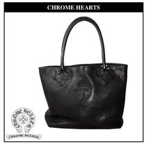 CHROME HEARTS CH CROSS Leather Totes
