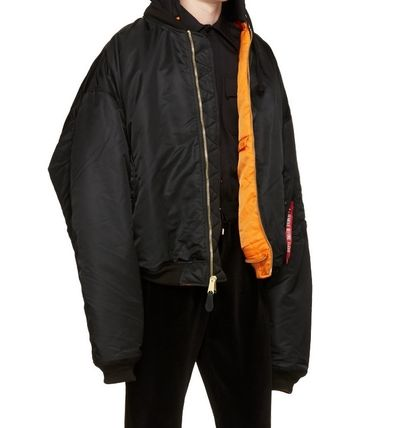 VETEMENTS Unisex MA-1 Bomber Jackets