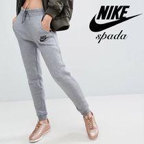 Nike Casual Style Sweat Street Style Bi-color Plain Sweatpants