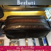 Berluti Leather Handmade Clutches