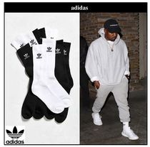 adidas Unisex Plain Cotton Undershirts & Socks