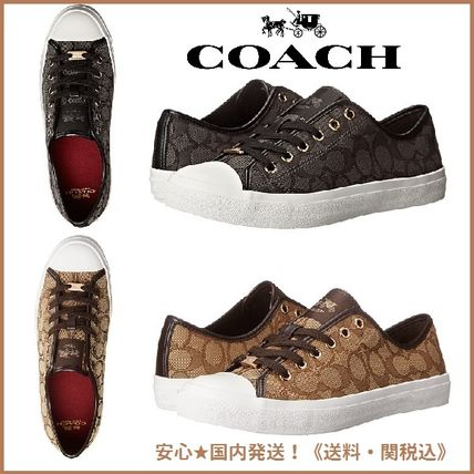 Monoglam Lace-up Casual Style Low-Top Sneakers