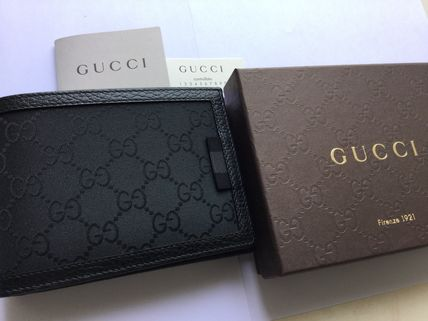 GUCCI Cambus Folding Wallets