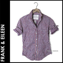 Frank&Eileen Other Check Patterns Long Sleeves Shirts & Blouses