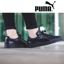 PUMA SUEDE Casual Style Plain Other Animal Patterns Low-Top Sneakers