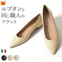 CORSOROMA9 Leather Pointed Toe Pumps & Mules