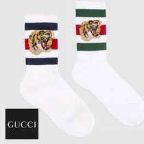 GUCCI Stripes Street Style Cotton Undershirts & Socks