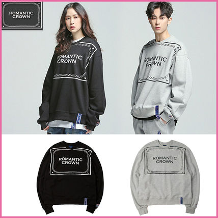 Crew Neck Unisex Long Sleeves Knits & Sweaters