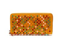 Christian Louboutin Panettone  Studded Leather Long Wallets
