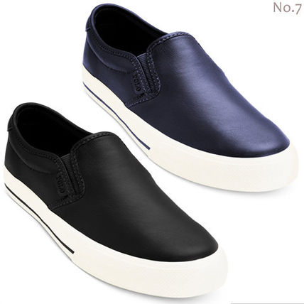 SALE-POLO Ralph Lauren-mens simple Leather Slip-on