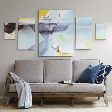 Madison Park 5 piece set gelcoat canvas Blue Skies Ahead