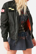 ALPHA INDUSTRIES Short Casual Style Street Style Plain Bomber Jackets