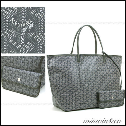 GOYARD St. Louis GM tote bag * grey