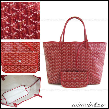 GOYARD St. Louis GM tote bag * Red
