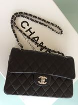 CHANEL MATELASSE Lambskin 2WAY Plain Elegant Style Shoulder Bags