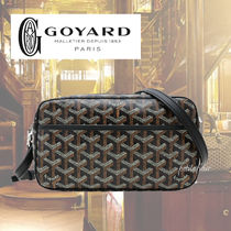 GOYARD Monoglam Unisex Leather Messenger & Shoulder Bags