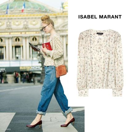 Isabel Maant FUDGE Parisienne featured s blouse
