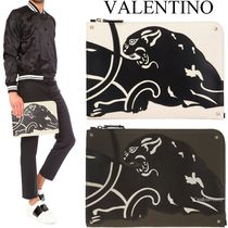 VALENTINO Studded Clutches
