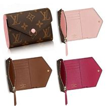 Louis Vuitton MONOGRAM Monoglam Leather Folding Wallets
