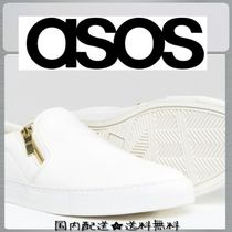 ASOS Faux Fur Street Style Plain Loafers & Slip-ons