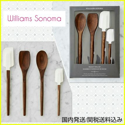 Williams-Sonoma Walnut kitchen tools