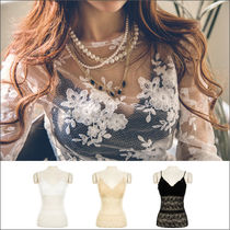 Medium Party Style Home Party Ideas Lace Tanks & Camisoles