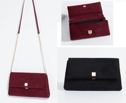 Party, party, Portugal from PARFOIS suede 2-Way clutch