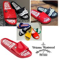 Vivienne Westwood Casual Style Collaboration Slippers Sandals