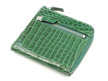 Unisex Crocodile Other Animal Patterns Coin Purses