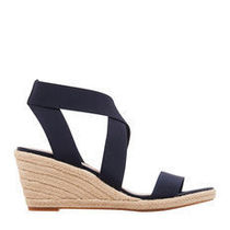 Nine West Open Toe Plain Platform & Wedge Sandals