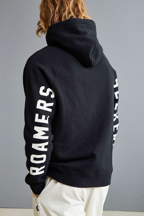 POLER Hoodies Street Style Long Sleeves Cotton Logos on the Sleeves 3