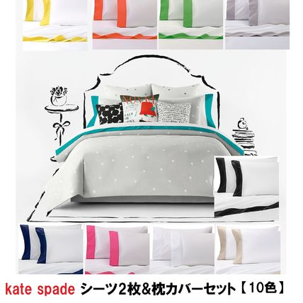 Kate Spade New York Pillowcases Flat Sheets Duvet Covers By