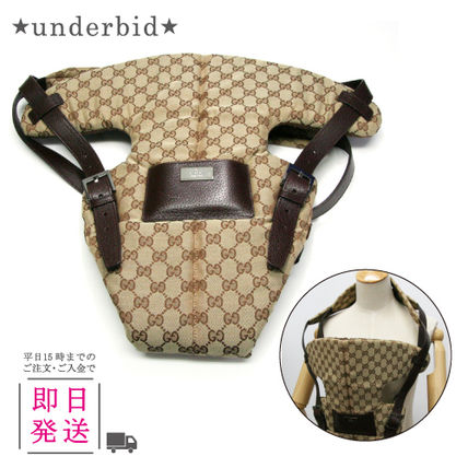 28550 RF401R9643 GUCCI baby carrier GG patterns 1043